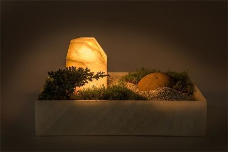 nature green lamp