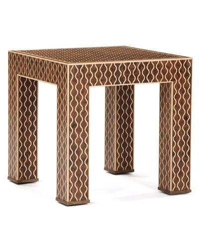 Oscar de la Renta Morrocan side table