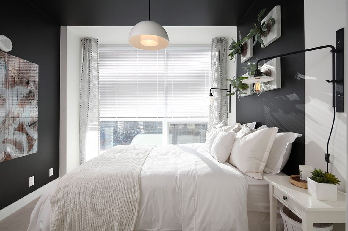 How to Liven Up a B&W Room