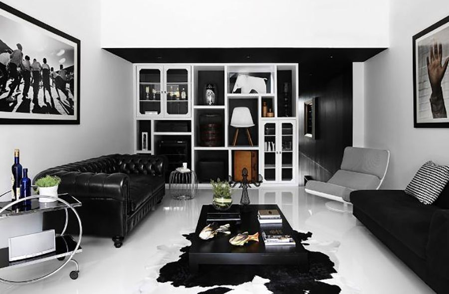 Stunning Monochrome Interiors To Inspire You