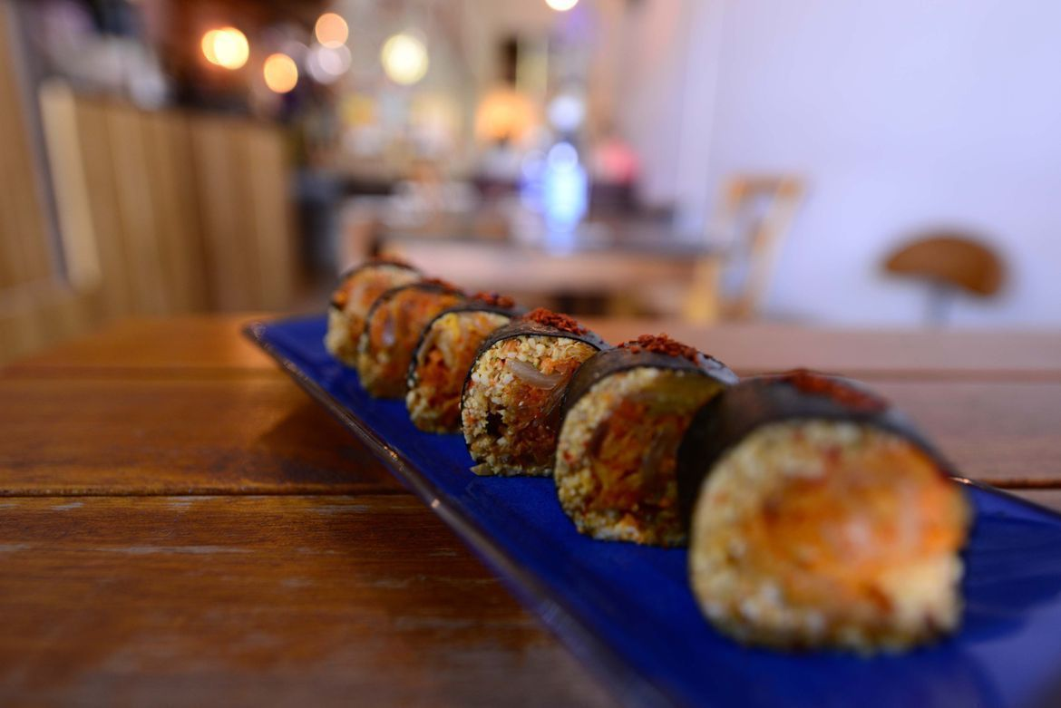 raw food and vegan food at afterglow by anglow deli and bar