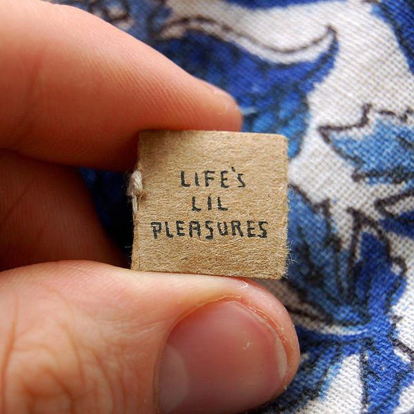 Life's Lil Pleasures: Evan Lorenzen's New Miniature Book