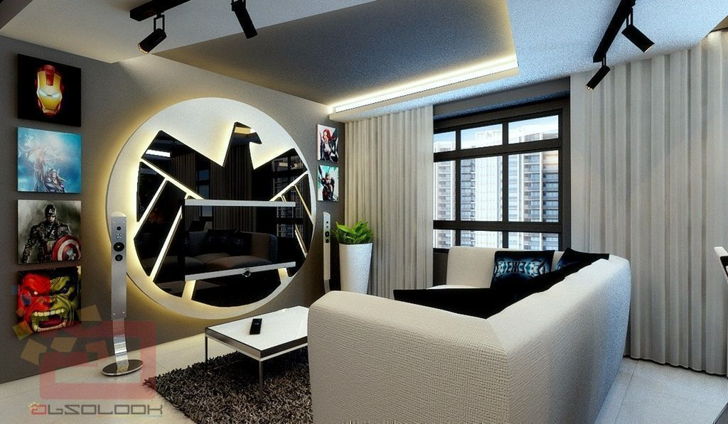 Iron Man House Interior.  House Tour Avengers Themed Flat in Queenstown