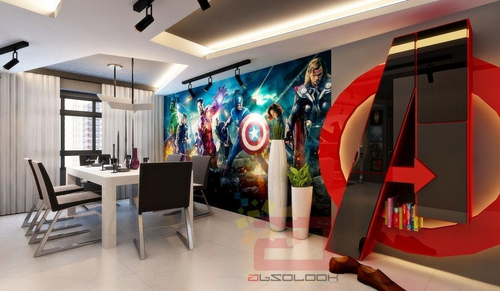 House Tour: Avengers-Themed Flat in Queenstown