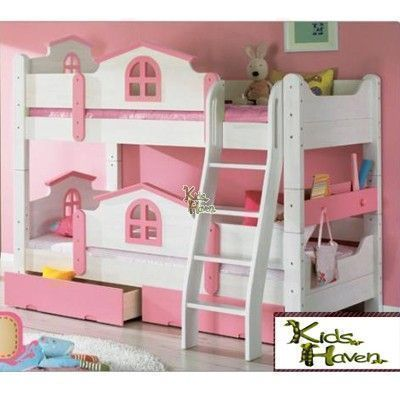 Little House Double Decker Bed 1288