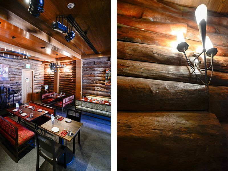 tour to view the interior design of Buyan Russian Restaurant and Bar