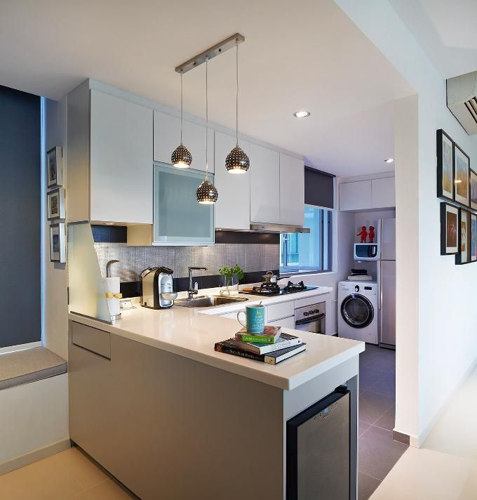 Interior Design For Kitchen For Flats: 10 Contemporary Kitchens In Singapore Worth Looking Into