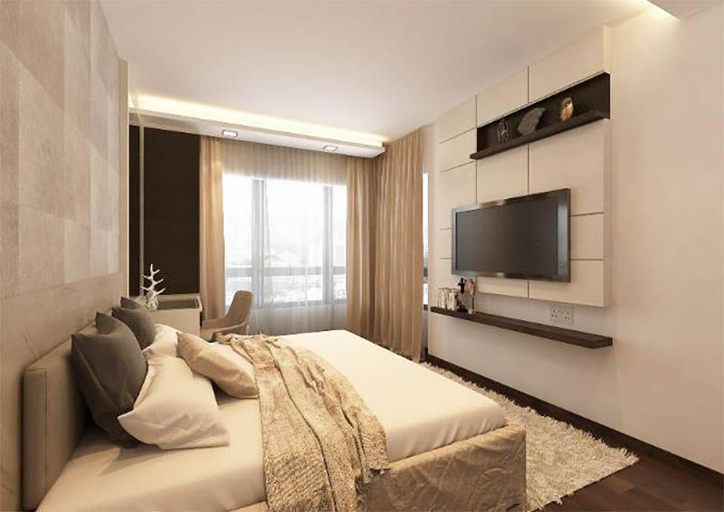 10 contemporary hotel like hdb bedrooms for Bedroom ideas hdb