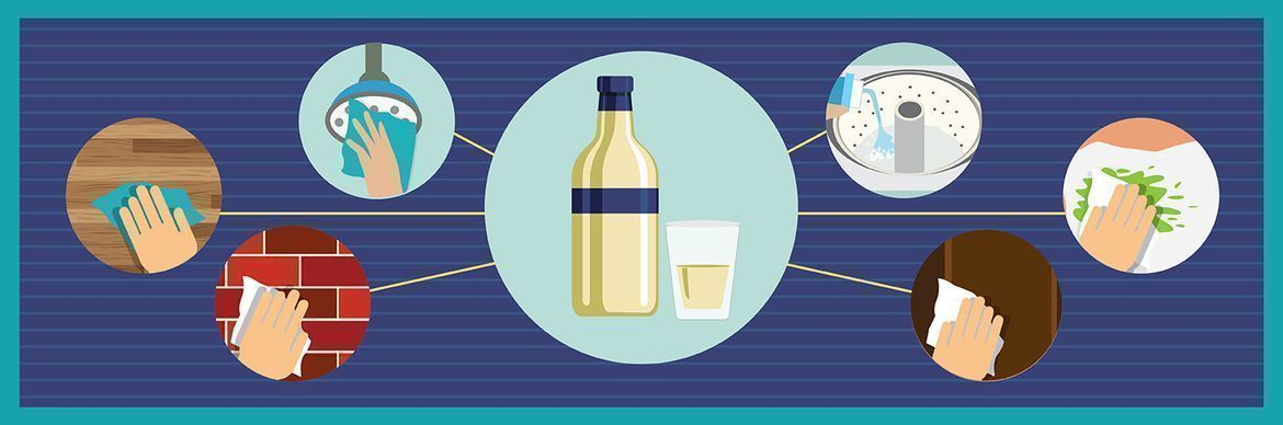 Infographic: Clever Uses of Vinegar Outside the Kitchen