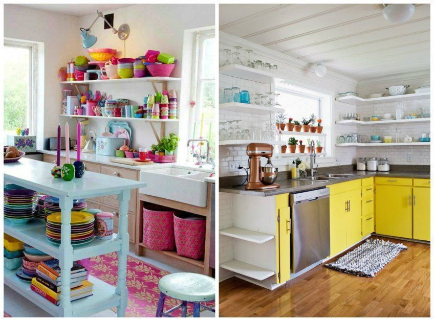15 Colourful Kitchens
