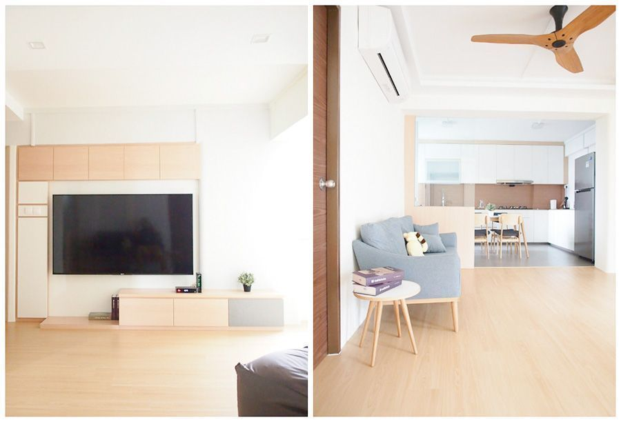 House tour yc and ling 39 s japanese inspired minimalist home for Minimalist home tour