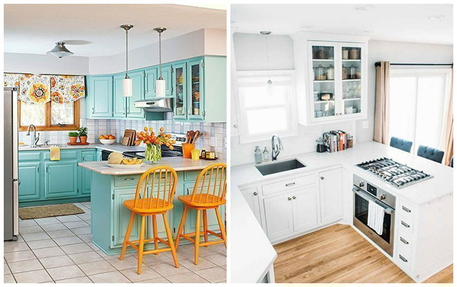 21 Stunning Small Kitchens