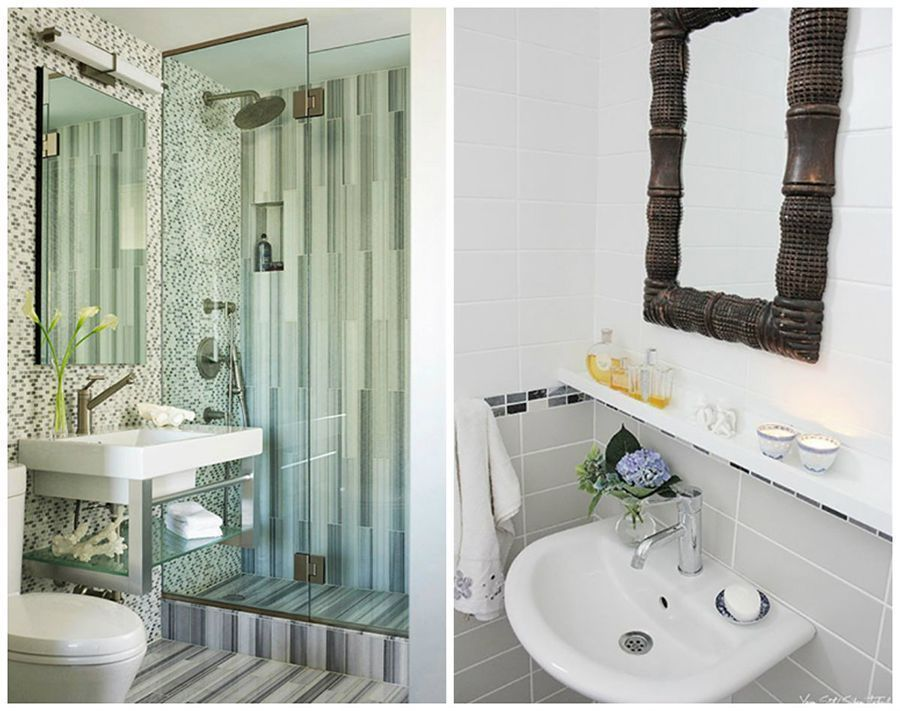 9 Small Bathroom Design Ideas