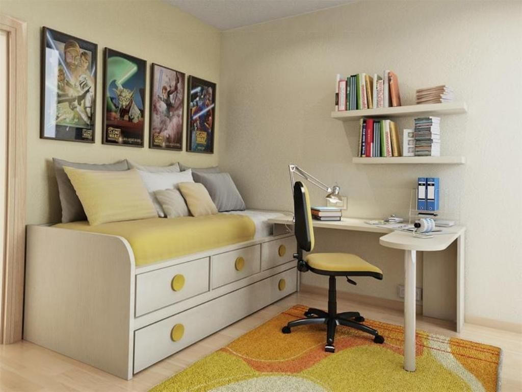 5 Organising Ideas for Small Bedrooms