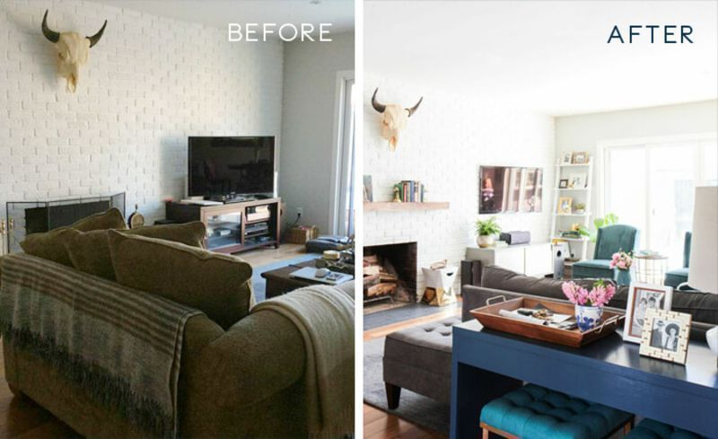 5 Must-See Living Room Before-and-After Makeovers