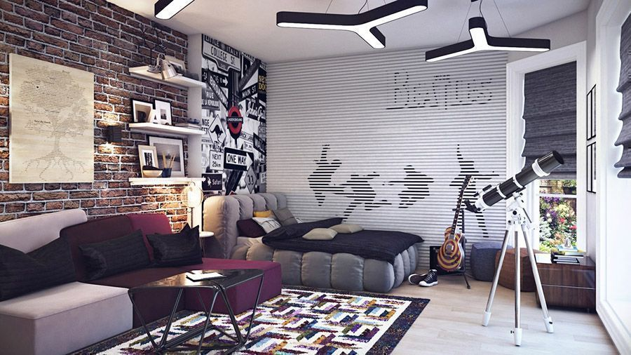 10 Bedroom Design Ideas for Teenage Boys