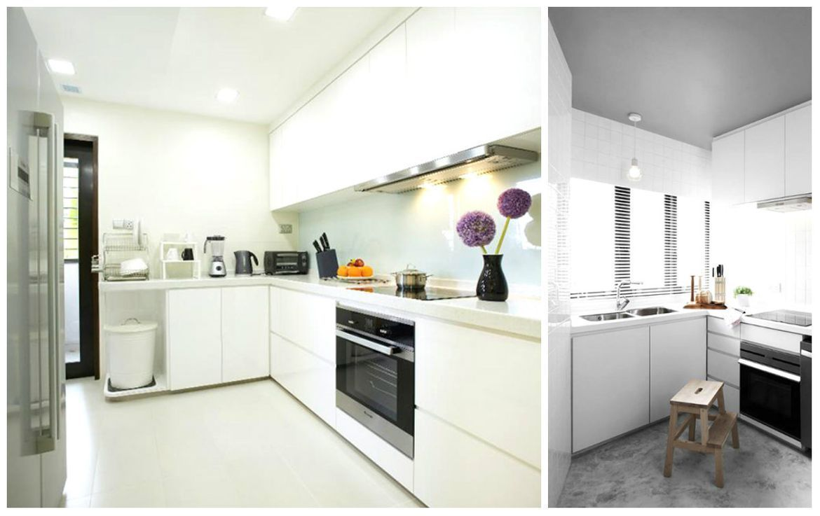 kitchen design singapore hdb flat.  13 White Kitchen Design Ideas for Your Next Renovation
