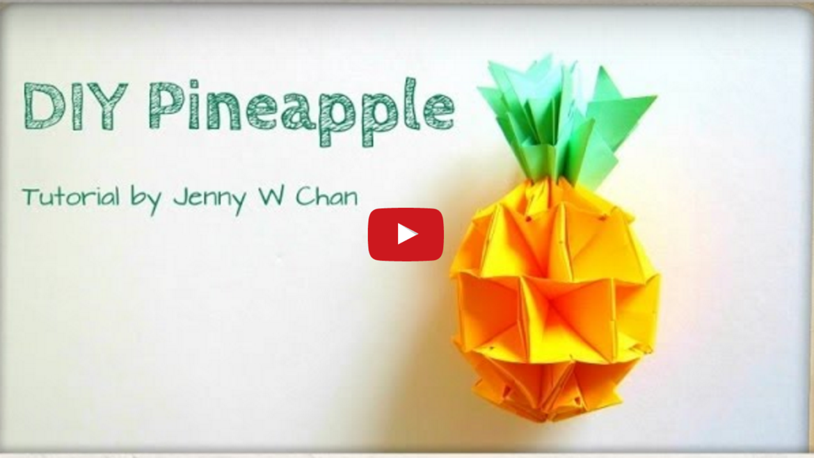 Chinese New Year Décor: DIY Pineapples