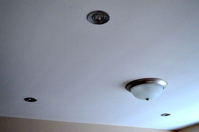 how to replace a ugly ceiling light