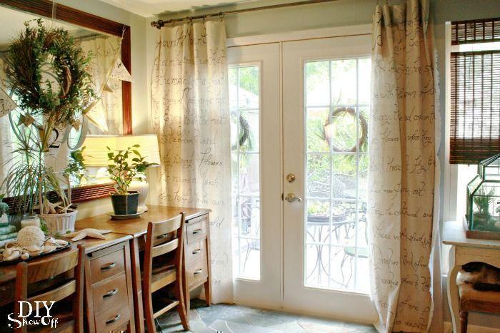 DIY Window Treatments on a Budget