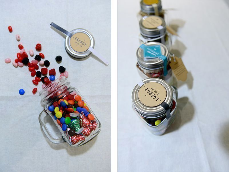 How to make DIY gift jars to place cookies