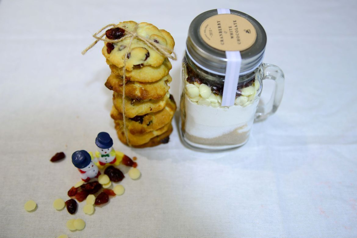 gift jars for cookies