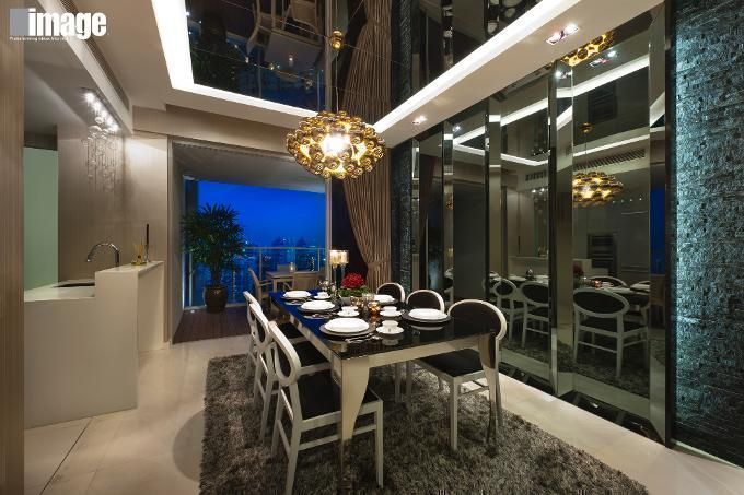 Sky 11 By Image Creative Design Pte Ltd This Glamorous Dining Room