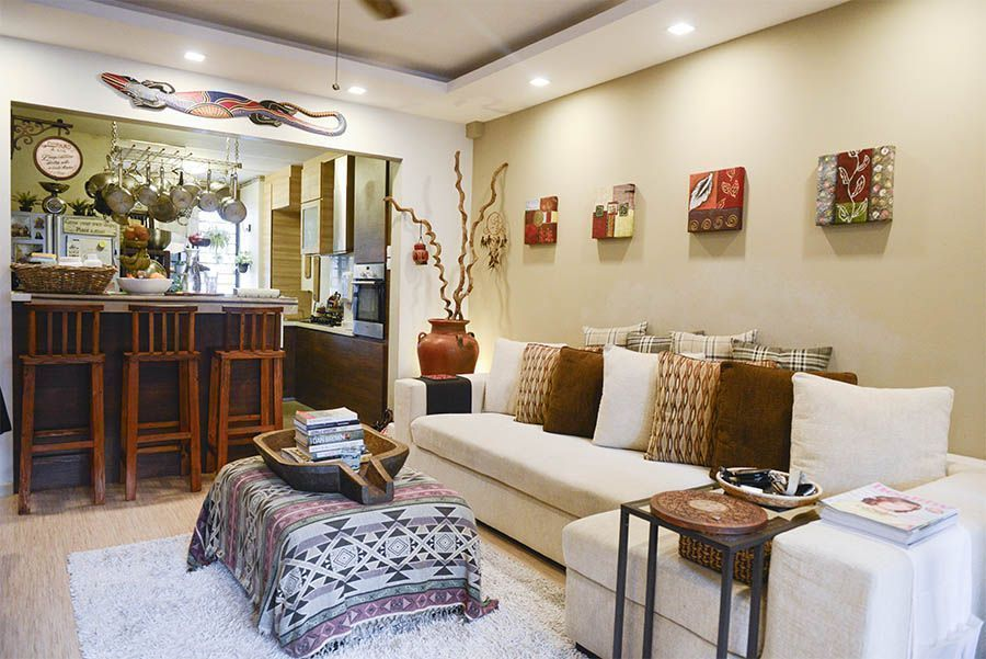 House Tour: Bamm and Christina's Balinese-Style HDB Home
