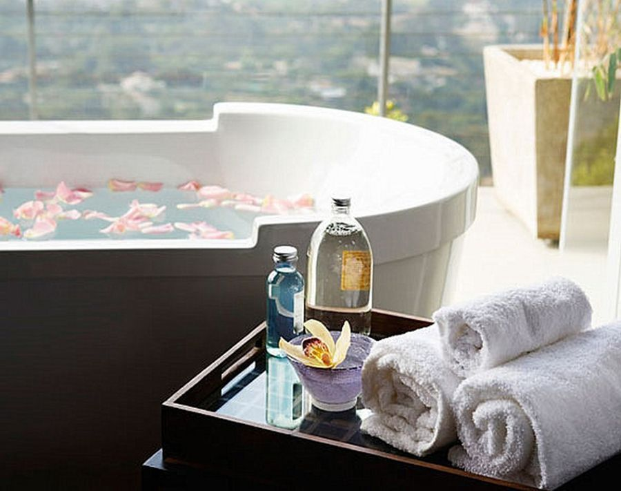 8 No-Reno Ways to Transform Your Bathroom Into a Spa