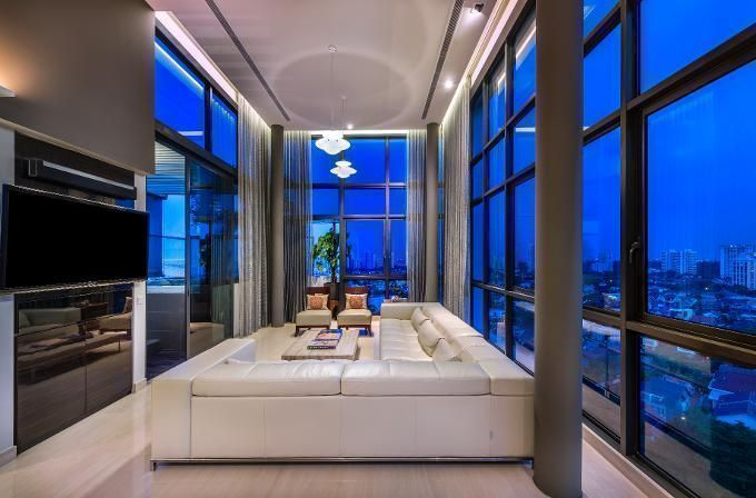 Glam-Contemporary Living Rooms in Singapore That We Love