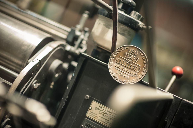 traditional printing machines