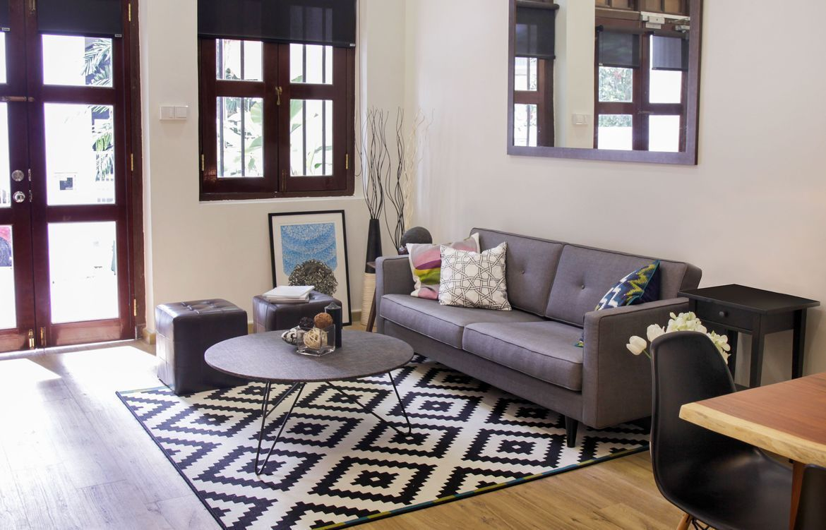 Tour: A Stylishly Eclectic Shophouse