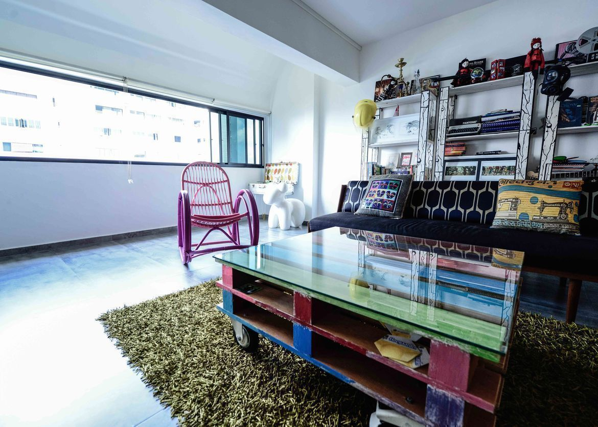 House Tour: Jay and Pearl's Fun and Funky HDB Maisonette