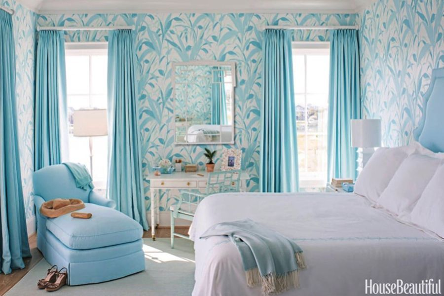 14 Inspiring Blue and White Interiors
