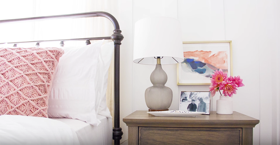 Video: How to Style a Nightstand