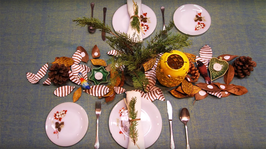 Video: 5 Ways to Set Your Christmas Dining Table