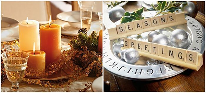 Ideas for a Showstopping Christmas Centrepiece