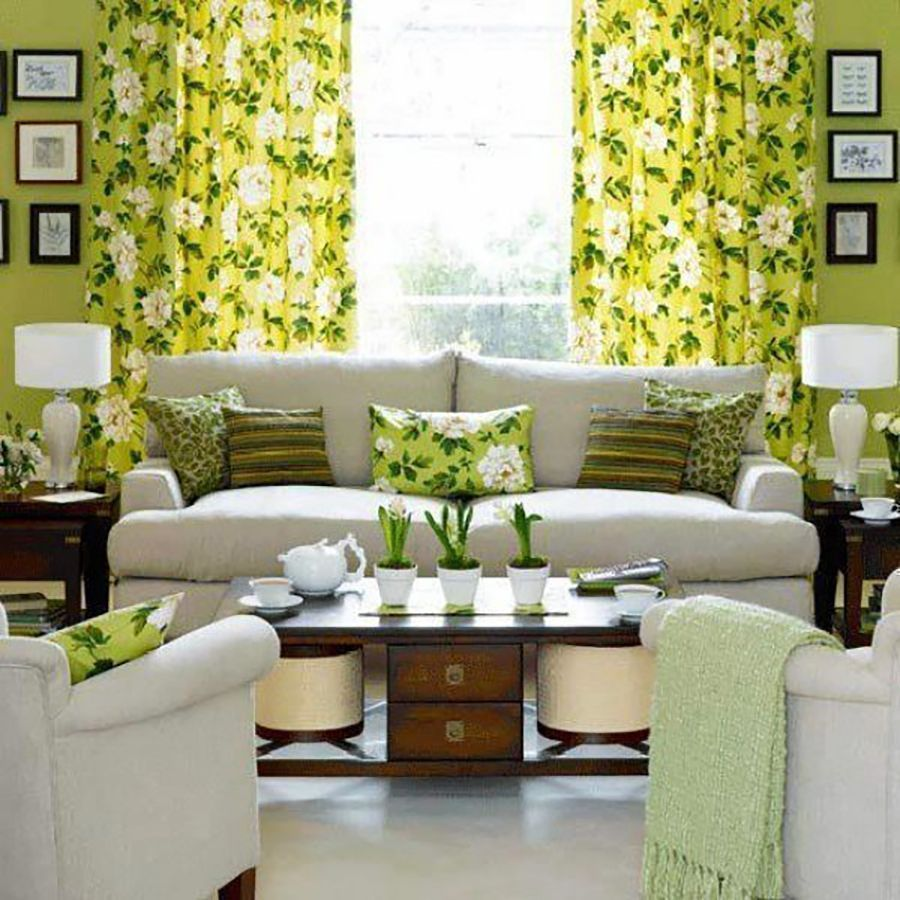 12 Coloured Curtain Ideas