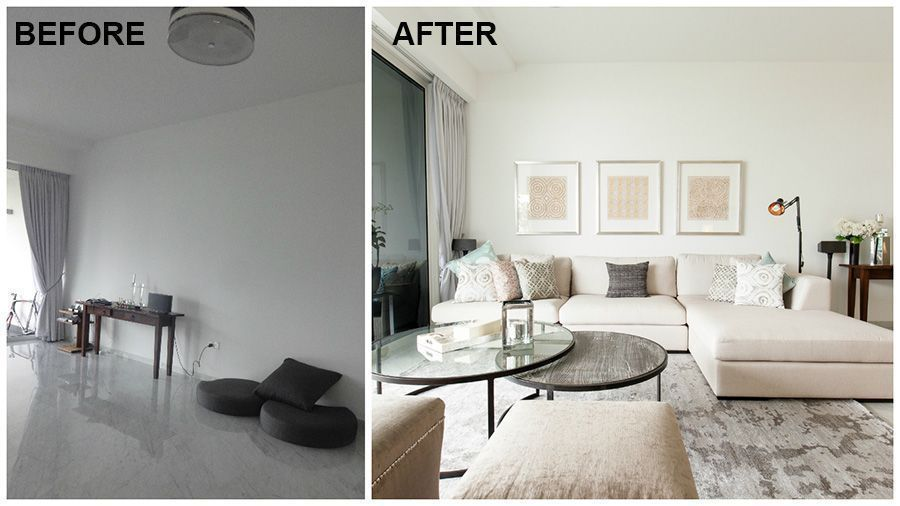Before-and-After Room Makeovers: Decorating Tips from a Pro