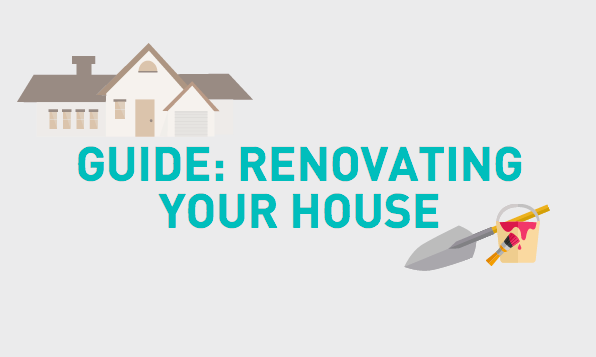 Infographic: Guide to Renovating Your House