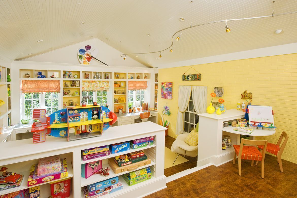 play and work room for kids