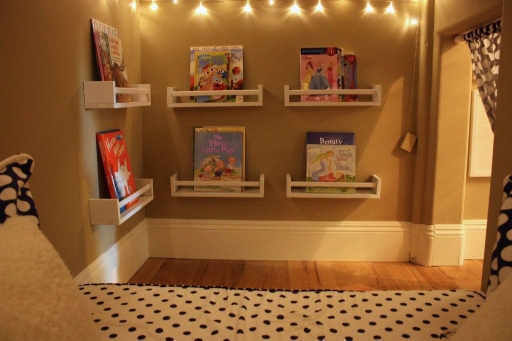 private reading corner for children