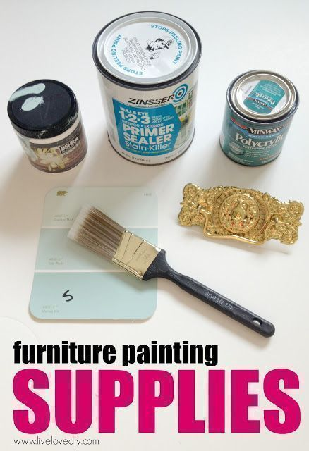 Repainting Wood Laminate Furniture Totally Possible