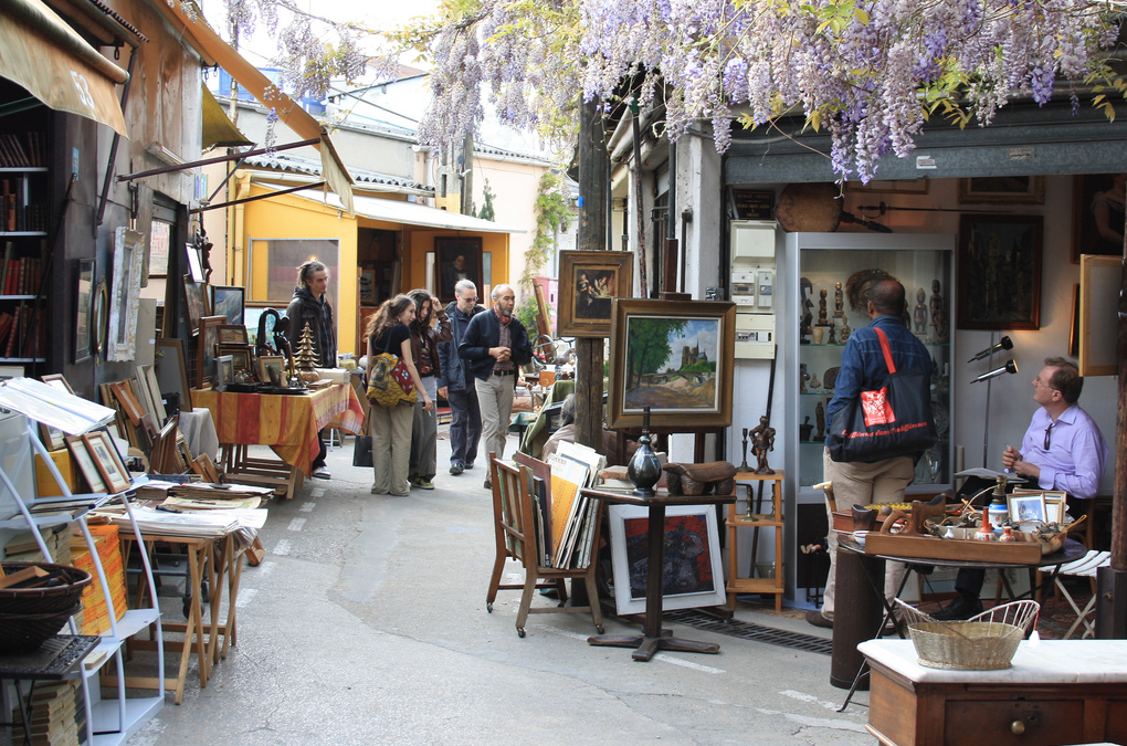 Paris: Marche aux Puces Saint-Ouen is a flea market with unique furniture finds