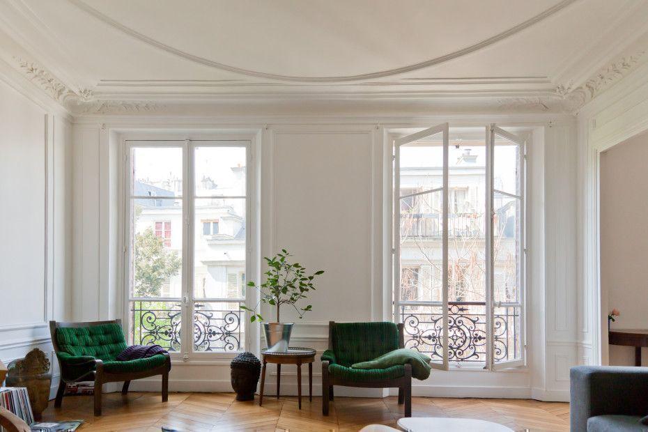Recreate the look of a parisian apartment for Appartement parisien decoration