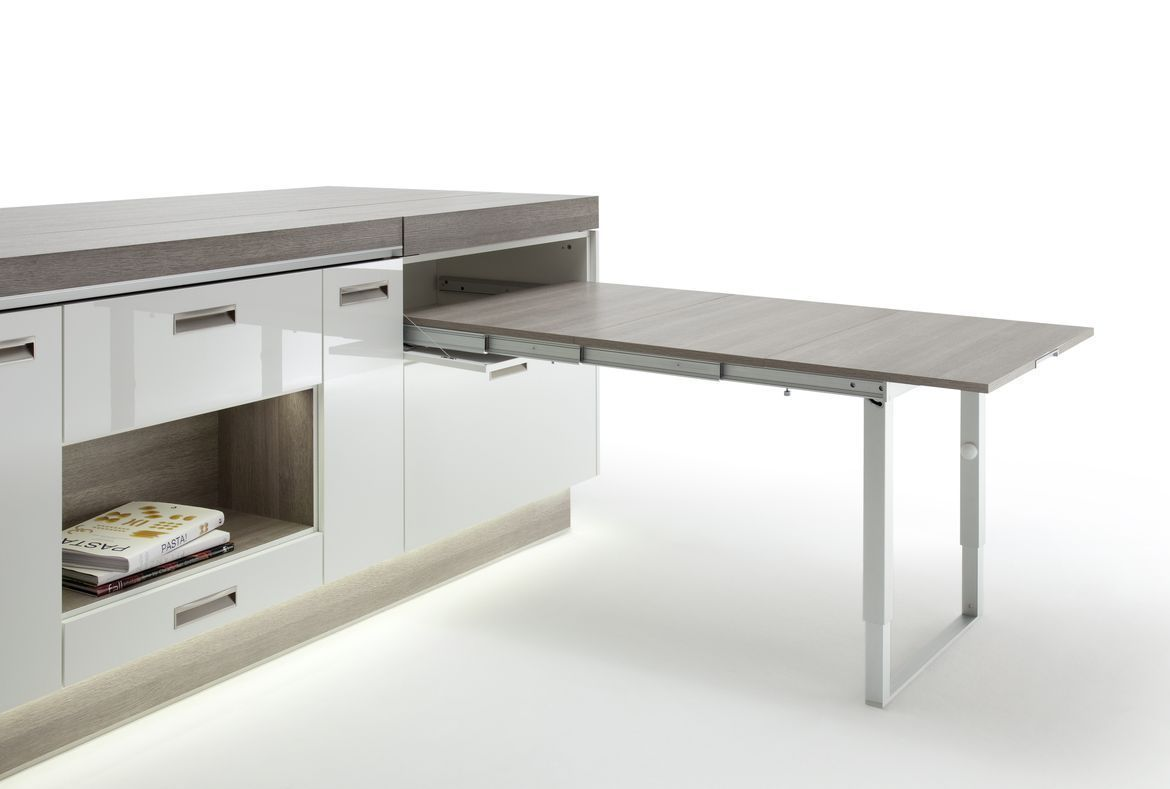 Kitchen Island With Pull Out Dining Table
