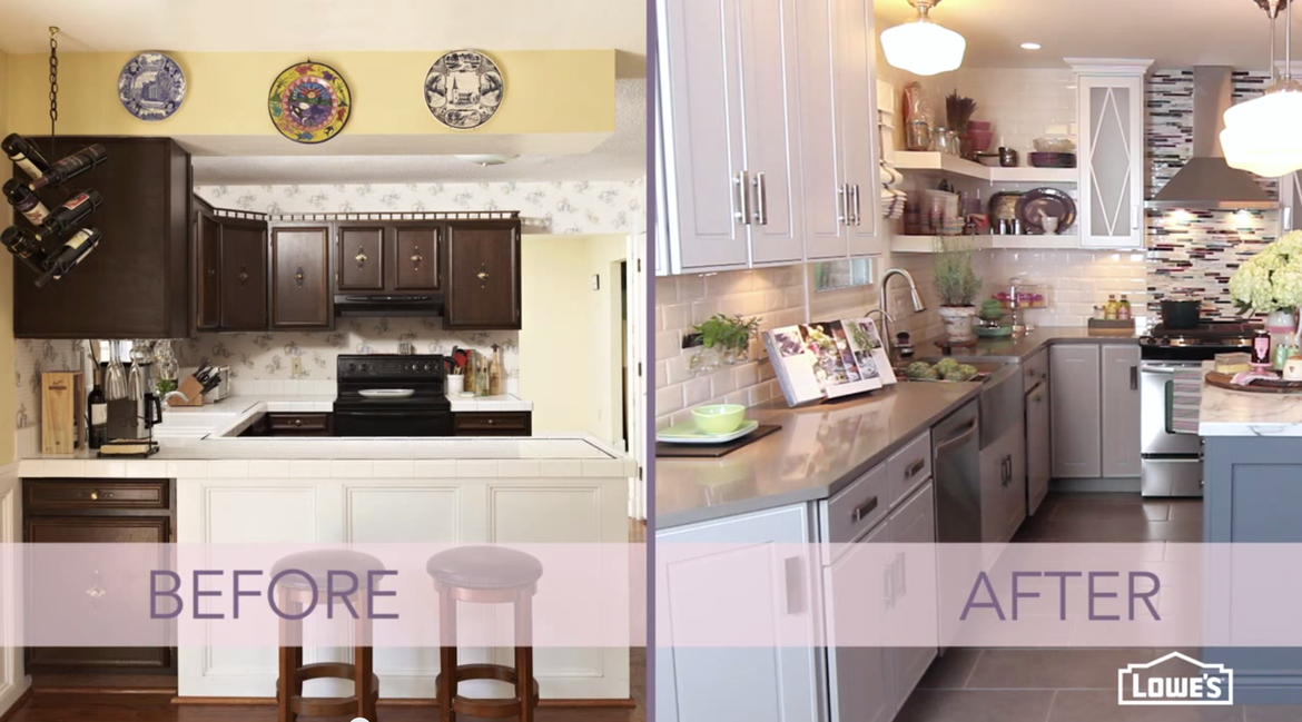 video how to remodel and revamp a small kitchen