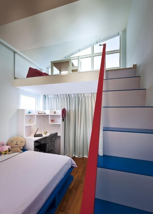 Make Use Of Ceiling Height By Creating A Loft Area For Your Teenu2014whether  For The Bed Or A Study Area. Teens Love Getting Their Own Hideaway Spot.
