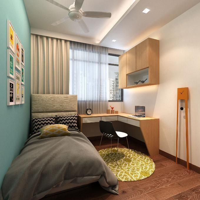 Home Design Ideas For Hdb Flats: 9 Cool Bedrooms Your Teens Will Love