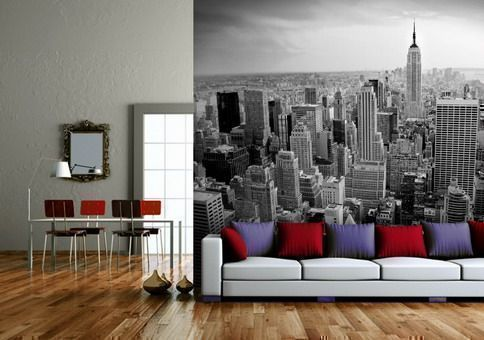 Travel themed rooms to satisfy your wanderlust for City themed bedroom designs